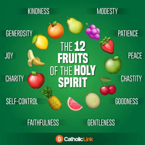 3 fruits of the holy spirit 12 fruits of the holy spirit catholic www pixshark