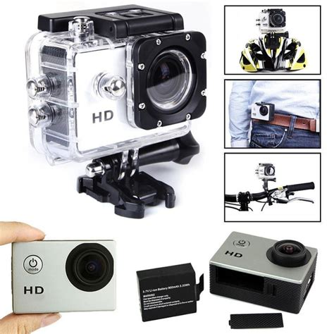 Sports Hd 1080p Waterproof 30m waterproof silver sj4000 1 5 hd 1080p sport mini dv