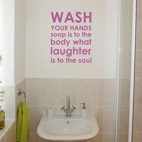 bathroom rules wall sticker by nutmeg notonthehighstreet com