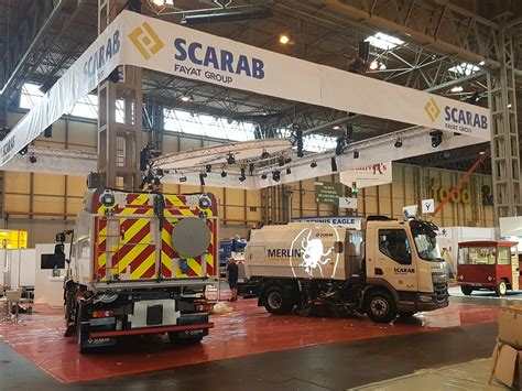 home design show nec exhibition stand set scarab sweepers nec birmingham