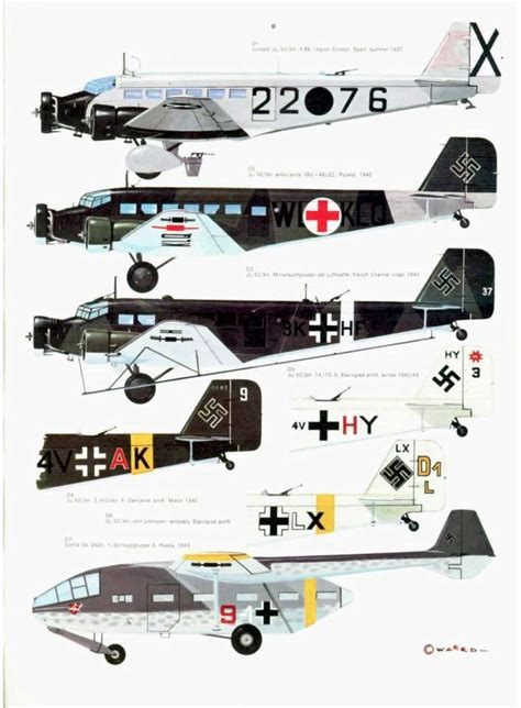 luftwaffe in colour volume 1612004555 s08 luftwaffe colour markings 1935 1945 vol 2 page 33 960 la luftwaffe les ailes du iii 232 me