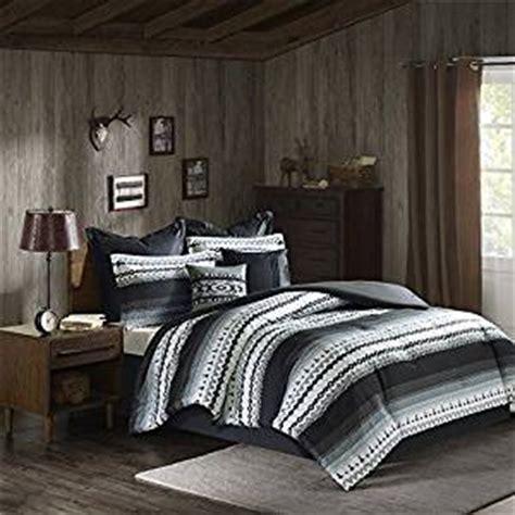 native american comforter sets com 8 piece black grey southwest comforter queen