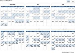 2017 chicago cubs schedule pdf