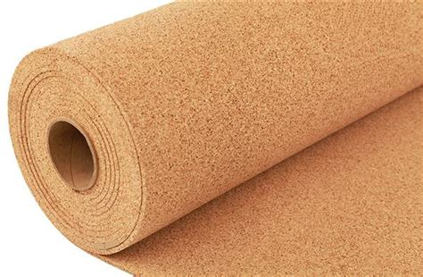 Gabus Rubber Cortica T 6mm 6mm eco cork underlayment laminate and tile floor underlay
