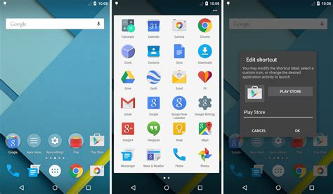google design lollipop apex launcher 3 0 apk with android 5 0 lollipop material