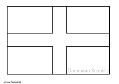 dominican republic flag coloring page coloring page flag dominican republic img 6327
