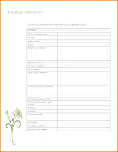 Free Printable Funeral Program Template by 12 Free Printable Funeral Program Template