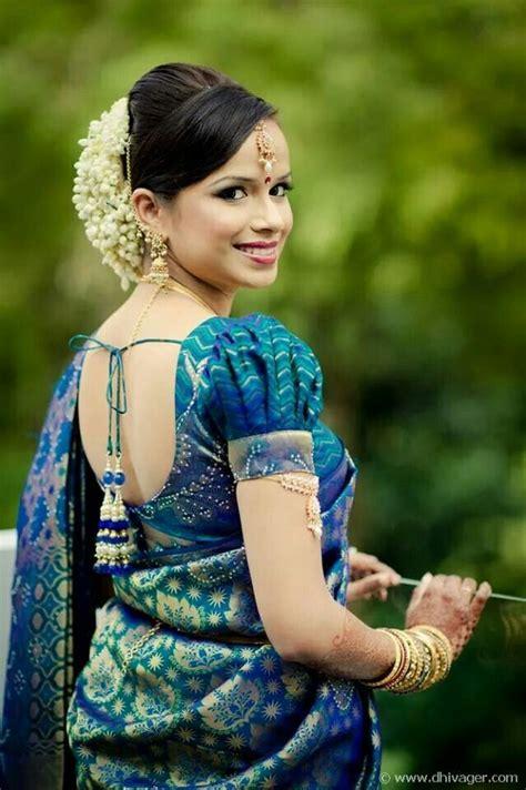 indian hairstyles with jasmine flowers south indian bride gorgeous gajra jasmine flower bun in