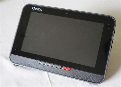 xfinity wireless home security system touchscreen panel