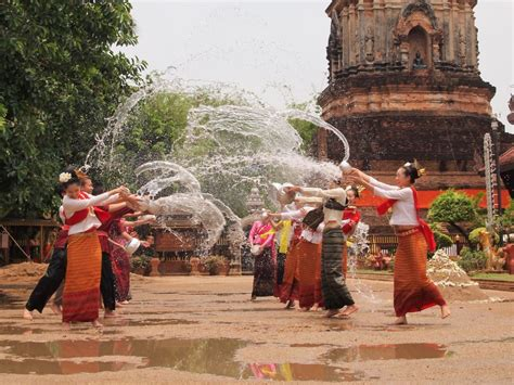 thai new year water festival songkran festival all about thai new year top