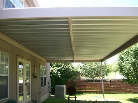 Awnings And Covers by Custom Steel Patio Awning Thousand Oaks San Antonio