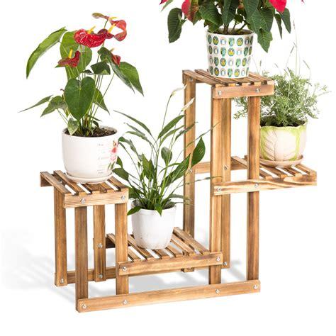 Flower Rack Shelves by Popular Wooden Plant Shelf Buy Cheap Wooden Plant Shelf