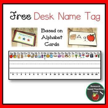 printable desk tags for school free desk name tag by research based teaching tools tpt