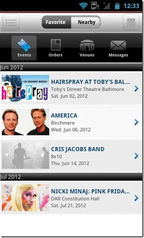 official android app store official ticketmaster android app released in play store