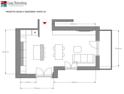 arredare cucina e soggiorno insieme il progetto un open space con cucina a vista