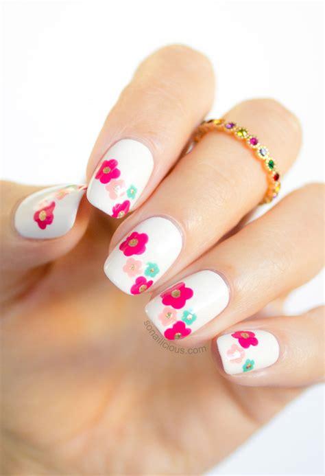 marc jacobs daisy delight spring nail art tutorial