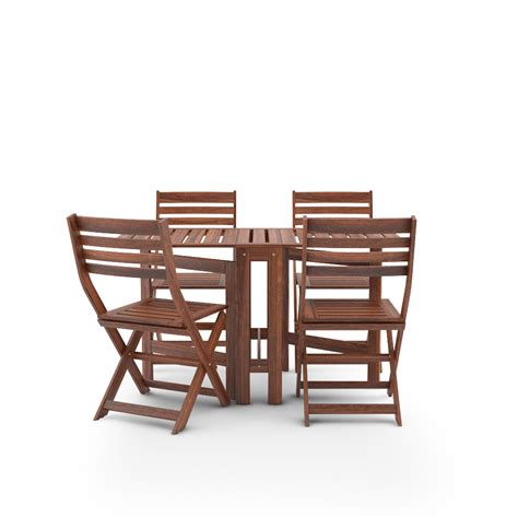 ikea applaro set table and 4 chairs free 3d model of ikea