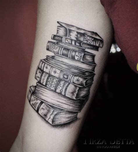 44 amazing book tattoos for literary lovers tattoosera