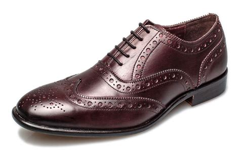 Brogue Oxfords brogues mens leather sole bucanon brogue oxford
