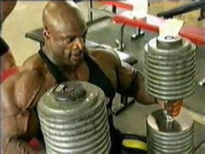 How Much Can Ronnie Coleman Bench Press The Heaviest And Biggest Dumbbells Ever Seen
