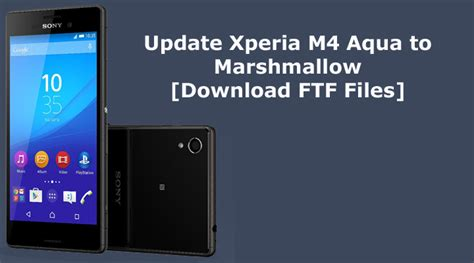 mount your ftf file here for xperia firmware nicklas how to update xperia m4 aqua to marshmallow manually