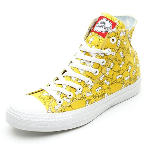Harga Converse X The Simpsons the simpsons x converse chuck all hi