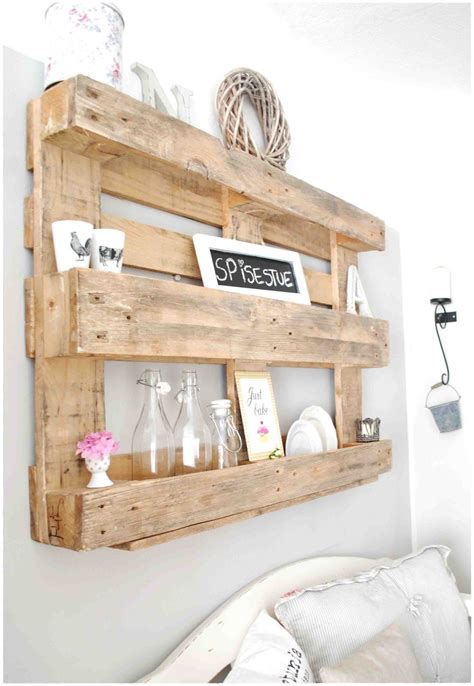 Palette Shelf diy furniture projects made of whole pallets