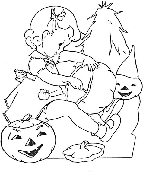 coloring pages halloween on pinterest halloween