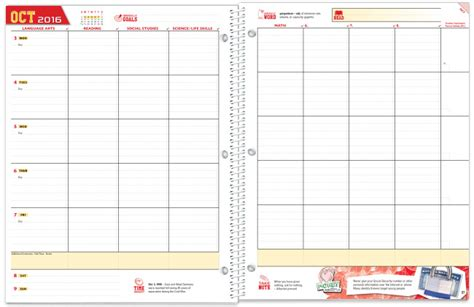 Middle School Student Planner Template 6 Best Images Of Middle School Printable Planner Pages Free Printable Student Planner School