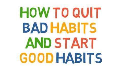 bed habits bed habits bed habits how to quit bad habits and start good habits youtube