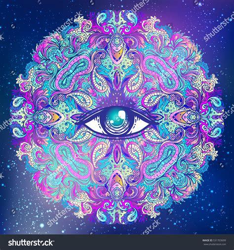 sacred geometry symbol all seeing eye stock vector sacred geometry symbol all seeing eye stock vector 531703699
