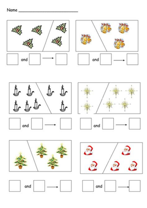 printable version of eyfs christmas addition and subtraction by cariad2 teaching
