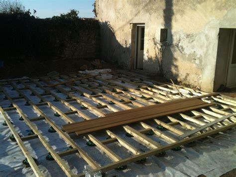 ma terrasse n a pas de pente exemples de constructions de terrasses en bois terrasse