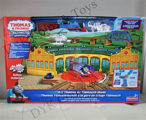 Trackmaster Tidmouth Sheds Playset by Trackmaster At Tidmouth Sheds Fischer Price 4