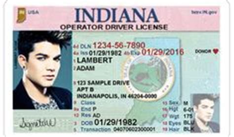 indiana id card template 1000 images about places to visit on driver s