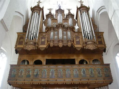 Organ L by Cath 233 Drale Notre Dame Our Cathedral Haderslev Vor