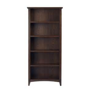bookshelves home depot home decorators collection 31 in w artisan macintosh oak