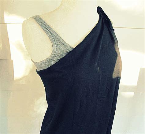 Blouse Side Ribbon Straps wobisobi velvet ribbon one shoulder shirt diy