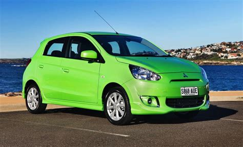 mitsubishi green mitsubishi mirage pop green special edition released