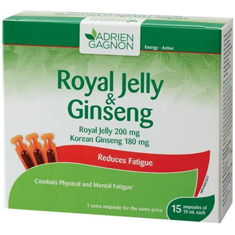 Royal Jeli Ginseng buy adrien gagnon royal jelly ginseng at well ca free shipping 35 in canada