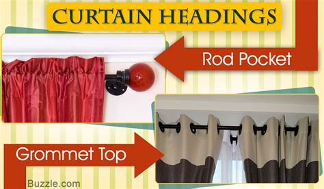 types of curtain headings different types of curtain headings to embellish your home