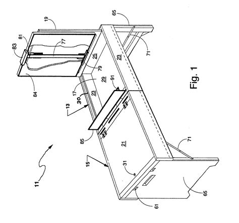 drawing bench horse patent us6663074 portable artist s horse google patents