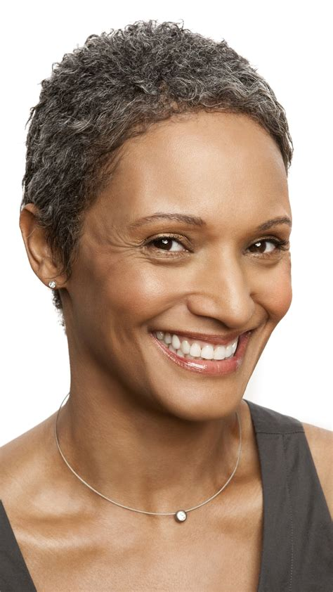 gray hair styles african american women over 50 aging women considered old 5 years earlier men