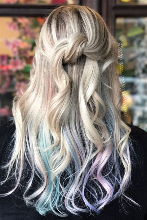 colored highlights 25 best ideas about peekaboo color on colored