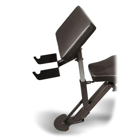 preacher curl bench attachment inspire fitness preacher curl attachment for fid or scs bench