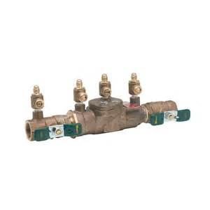 shop watts 3 4 in bronze in line backflow preventer