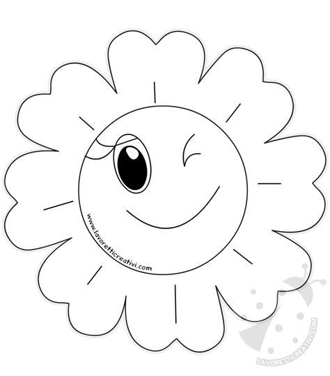fiori disegno per bambini disegni di fiori di primavera per bambini da colorare