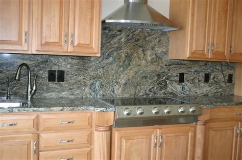 Backsplash Ideas For Kitchens With Granite Countertops by Granite Countertops And Tile Backsplash Ideas Eclectic