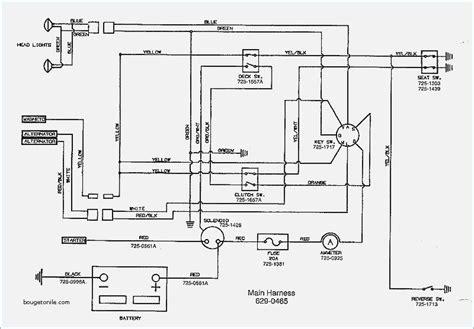 wiring diagram mtd lawn tractor wiring diagram