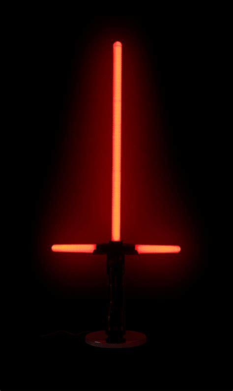 light wars wars floor standing lightsaber l thinkgeek